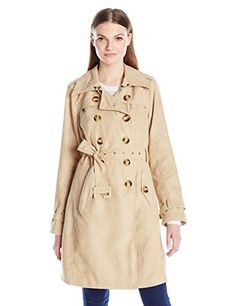 """Product review for Steve Madden Women's Classic Trench Coat.  - Timelessly styled classic long double breasted trench coat       Famous Words of Inspiration...""""The difference between fiction and reality? Fiction has to make sense.""""   Tom Clancy — Click here for more from Tom..."""