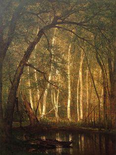 The Old Hunting Ground by Thomas Worthington Whittredge