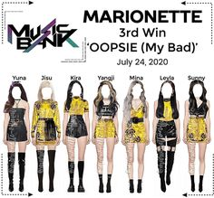 Marionette-official on ShopLook | The easiest way to find the perfect outfit Korean Fashion Kpop Inspired Outfits, Fashion Idol, Korean Girl Fashion, Dance Fashion, Kpop Fashion Outfits, Girls Fashion Clothes, Stage Outfits, Look Fashion, Girl Outfits