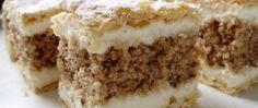 Tradiční ořechový řez s lístovým těstem Krispie Treats, Rice Krispies, Tiramisu, Ethnic Recipes, Desserts, Food, Tailgate Desserts, Deserts, Eten