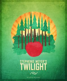 Had the cover been like this I wouldn't have pictured the entire story in shades of gray. Stephenie Meyer Twilight, Saga Art, Twilight Pictures, Twilight Series, Edward Cullen, Minimalist Poster, Close To My Heart, I Love Books, I Fall In Love