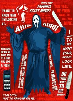 GHOSTFACE FROM SCREAM QUOTES.