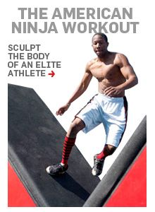 Sculpt the body of an elite athlete with this cutting-edge Ninja Warrior workout.