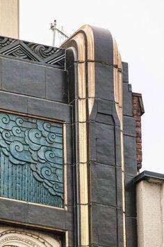 The Art Deco Dude — Part 2 of 2 of the Charles F. Berg… The Art Deco Dude – Teil 2 von 2 vom Charles F. Detail Architecture, Art Et Architecture, Amazing Architecture, Art Deco Decor, Art Deco Design, Art Deco Art, Art Deco Colors, Chrysler Building, Art Nouveau