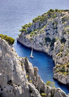 Blue Inlet, Marseille, France   #placesofwoder #amazingplaces #travel