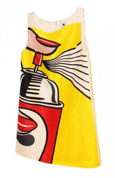 A limited edition Lichtenstein POP dress for only $75??? Someone buy one for our social media manager pleeeease!!!