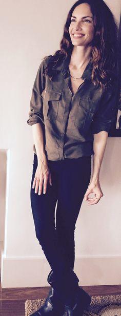 Esta camisa la encontré en IKKS