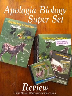 Giveaway of SuperSet! Apologia Biology Science SuperSet Review