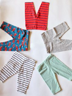 a2daeb420e0 T-Shirt to Baby Leggings tutorial Sewing Baby Clothes