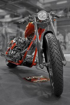 totallyradchoppers:  The Sweet Saxon! Custom Built Chopper Motorcycles!