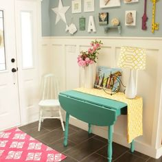 Shabby cuteness ...Lake Cottage Style Summer House Tour
