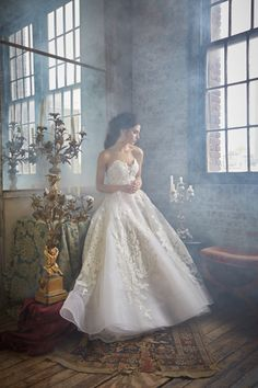 5e860f3f2640 Isabelle Armstrong Wedding Dress Walking Down The Aisle
