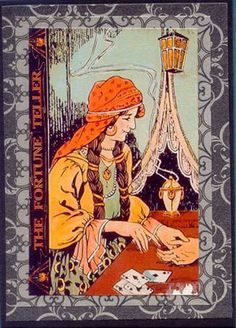 The Fortune Teller. Love this print.