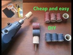 Dremel Cork Sanding Bands/drums