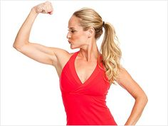 Tone your arms in 7 days with these 5 easy moves.