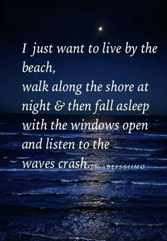 I just want to live by the beach Wave Book, Mermaid Board, Clear Eyes, Let Your Light Shine, Good Attitude, Sea And Ocean, Positive Words, Meaningful Quotes, Inspirational Quotes