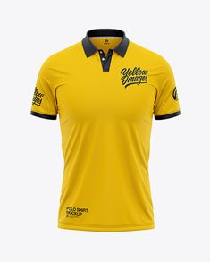 Men's Short Sleeve Polo Shirt - Front View in Apparel Mockups on Yellow Images Object Mockups Polo Design, Free Mockup Templates, Classic Clothes, Sport Tennis, Phone Mockup, Shirt Mockup, Best Logo Design, Short Sleeve Polo Shirts, Design Files