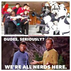To no one in particular. #nerds