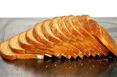 light wheat bread, thinly sliced by smitten, via Flickr