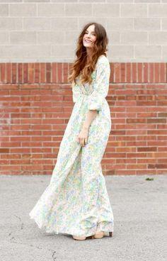 Peasant DIY Maxi Dress Diy Dress 0d90432754