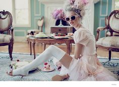 Wildfox Launches Marie Antoinette Inspired Sunglasses Lookbook  Marie Antoinette anything, really...hL