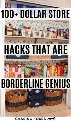 Dollar store hacks that are perfect for DIY projects. These dollar store crafts will really help you organize, clean and decorate your home! I've become a bit of a connoisseur for dollar store hacks. Here are of the best ones that are simply ingenious! Dollar Store Hacks, Dollar Stores, Dollar Dollar, Hacks Diy, Cleaning Hacks, Cleaning Solutions, Ikea Hacks, Deep Cleaning, Home