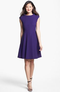 Awesome Vince Camuto Dress: so flattering and great price! (Also in black if you need a great LBD)