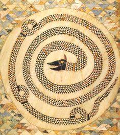 Pannello pavimentale a mosaico, Sant'Adriano a San Demetrio Corone