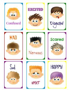 Is Your Child Emotionally Ready for Kindergarten? Charades For Kids, Craft Activities For Kids, Preschool Crafts, Toddler Activities, Emotions Preschool, Emotions Activities, Feelings Chart, Feelings And Emotions, English Teaching Materials