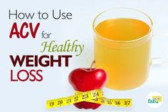 ACV for healthy weight loss