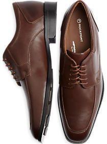 Rockport Brown Moc Toe Dress Shoes. Mens Clothing SaleMen's ...