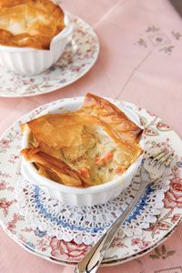Chicken Pot Pie {Bobby Deen} reduced fat, reduced sodium.. uses phyllo dough.