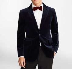 Velvet Jacket Men, Mens Tuxedo Jacket, Tuxedo Jackets, Dinner Jacket, Slim Fit Jackets, Groom Wear, Slim Man, Blue Velvet, Blazer Jacket