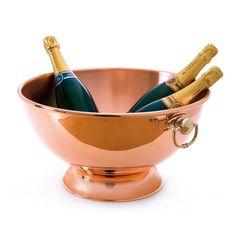 Discover the Mauviel 1830 M'Tradition Copper Champagne Bowl at Amara