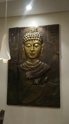 Budha murals.