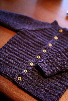 little ivanhoe sweater. free pattern.. Baby Sweater Patterns, Knit Baby Sweaters, Knitted Baby Clothes, Baby Knitting Patterns, Baby Patterns, Baby Knits, Toddler Sweater, Cardigan Pattern, Knitting For Kids