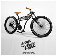McBess x PG Bikes Bacon & Cheese Machine
