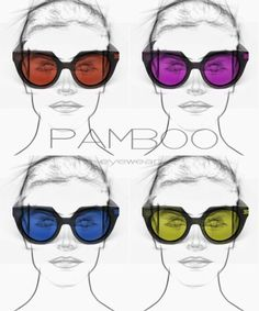 Andy colors pop art inspired Pop Art, Color Pop, Inspired, Glasses, Inspiration, Fashion, Biblical Inspiration, Moda, Colour Pop
