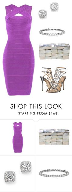 """Untitled #55"" by nc-young ❤ liked on Polyvore featuring Posh Girl, Jo-Liza, Bloomingdale's, Blue Nile and Sergio Rossi"