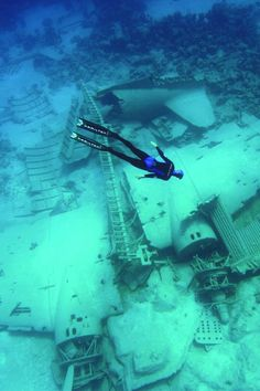 Would love to scuba dive in a wreck. Next adventure!