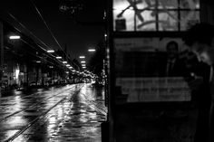 Oh Vienna . 2015 . 238 . Night Shift . Nicole Andermatt #Vienna #Wien #streetphotography #urbanphotography #night #rain