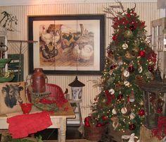 Country Christmas Theme | Casual Country Christmas Decor Theme traditional