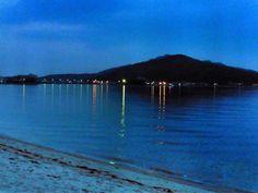 ( Morning Now at Hakata bay in Japan ) 25 May 4:50 薄明(dawn)の博多湾です。曇っています。