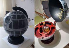 DIY Death Star Globe Bar