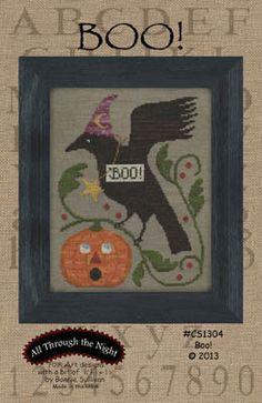 Boo - Cross Stitch Pattern