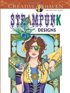 Creative Haven Steampunk Designs Coloring Book (Creative Haven Coloring Books) by Marty Noble http://www.amazon.com/dp/0486499197/ref=cm_sw_r_pi_dp_yVpiub02MXPW6