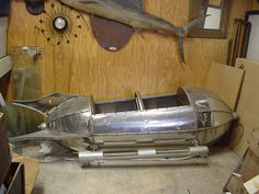 Vintage Rocket Ride Car
