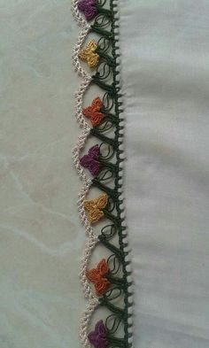 This Pin was discovered by HUZ Crochet Flowers, Tatting, Knit Crochet, Stitch, Lace, Handmade, Jewelry, Ss, Crochet Edgings