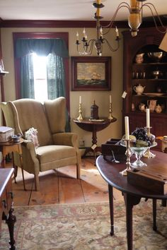 Alex Pifer's The Seraph The Seraph - Authentic 17-18th Century American reproduction furniture