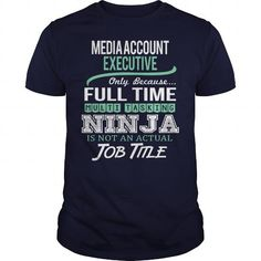 Awesome Tee For Media Account Executive - #tee aufbewahrung #hoodie for teens. TAKE IT => https://www.sunfrog.com/LifeStyle/Awesome-Tee-For-Media-Account-Executive-144838368-Navy-Blue-Guys.html?68278
